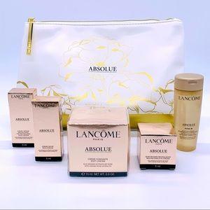 Lancôme Absolue Skincare Variety Bundle Zip Pouch